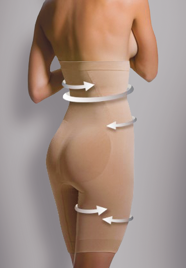 Anti-Cellulite Shapewear Hoher Bund